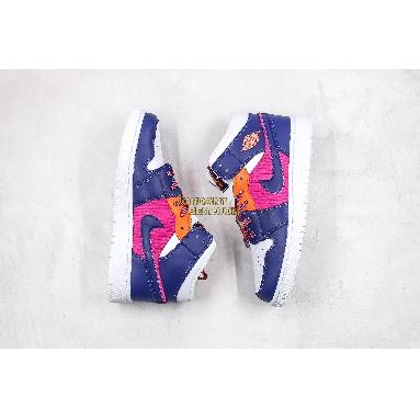 "best replicas Air Jordan 1 Mid GS ""Fire Pink"" 555112-602 Womens fire pink/regency Shoes replicas On Wholesale Sale Online"