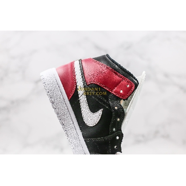 """top 3 fake Air Jordan 1 Mid """"Noble Red"""" BQ6472-016 Womens black/white-noble red Shoes replicas On Wholesale Sale Online"""