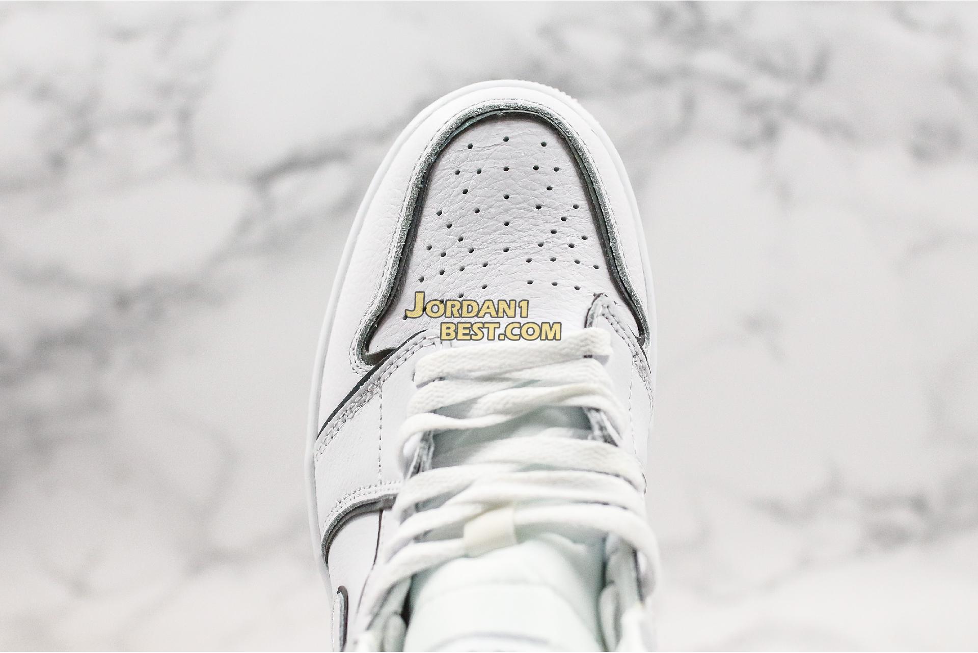 "Air Jordan 1 Mid SE ""Iridescent Trim"" CK6587-100 Mens Womens"