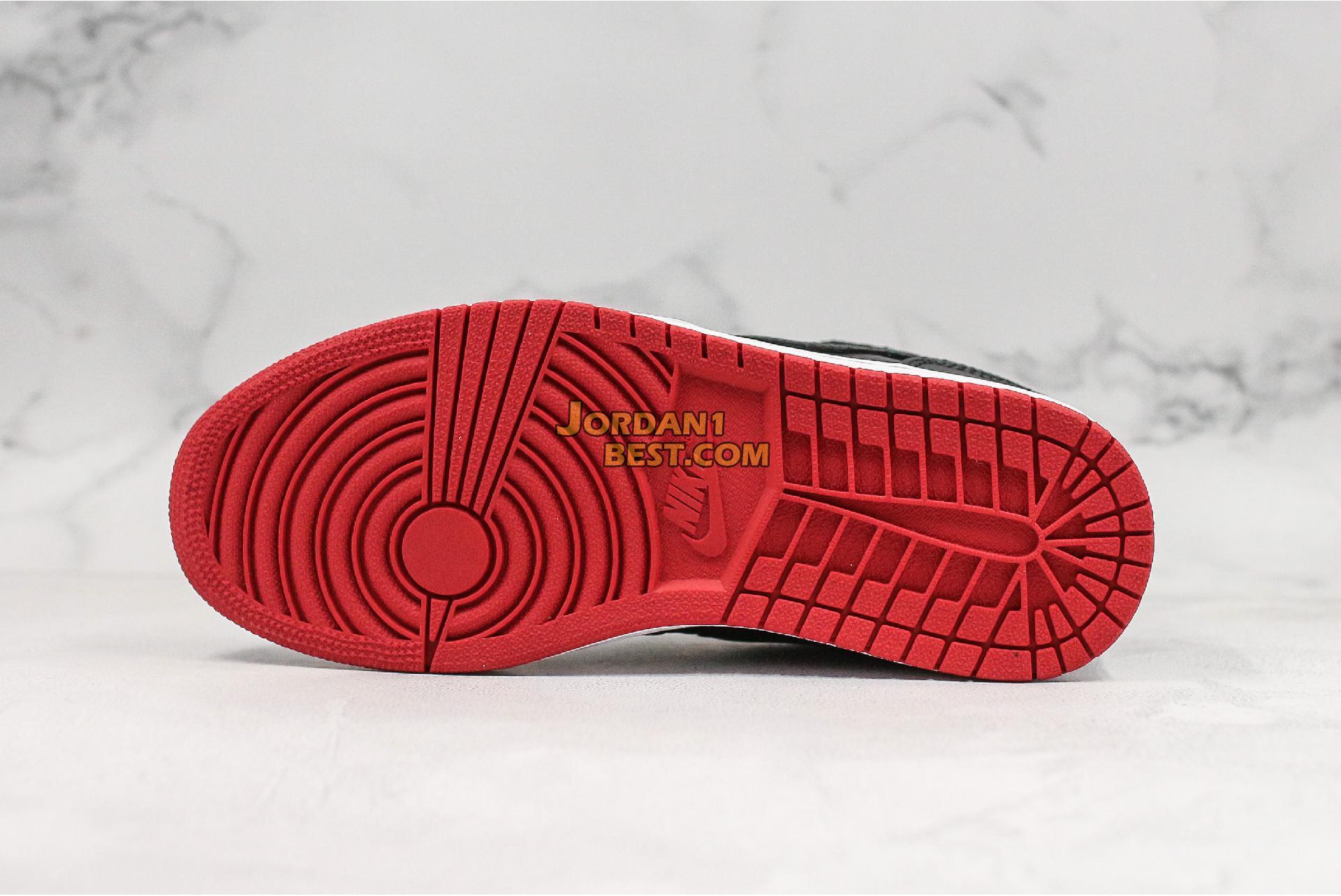 """Air Jordan 1 Retro 97 """"Gym Red"""" 555069-001 Mens"""