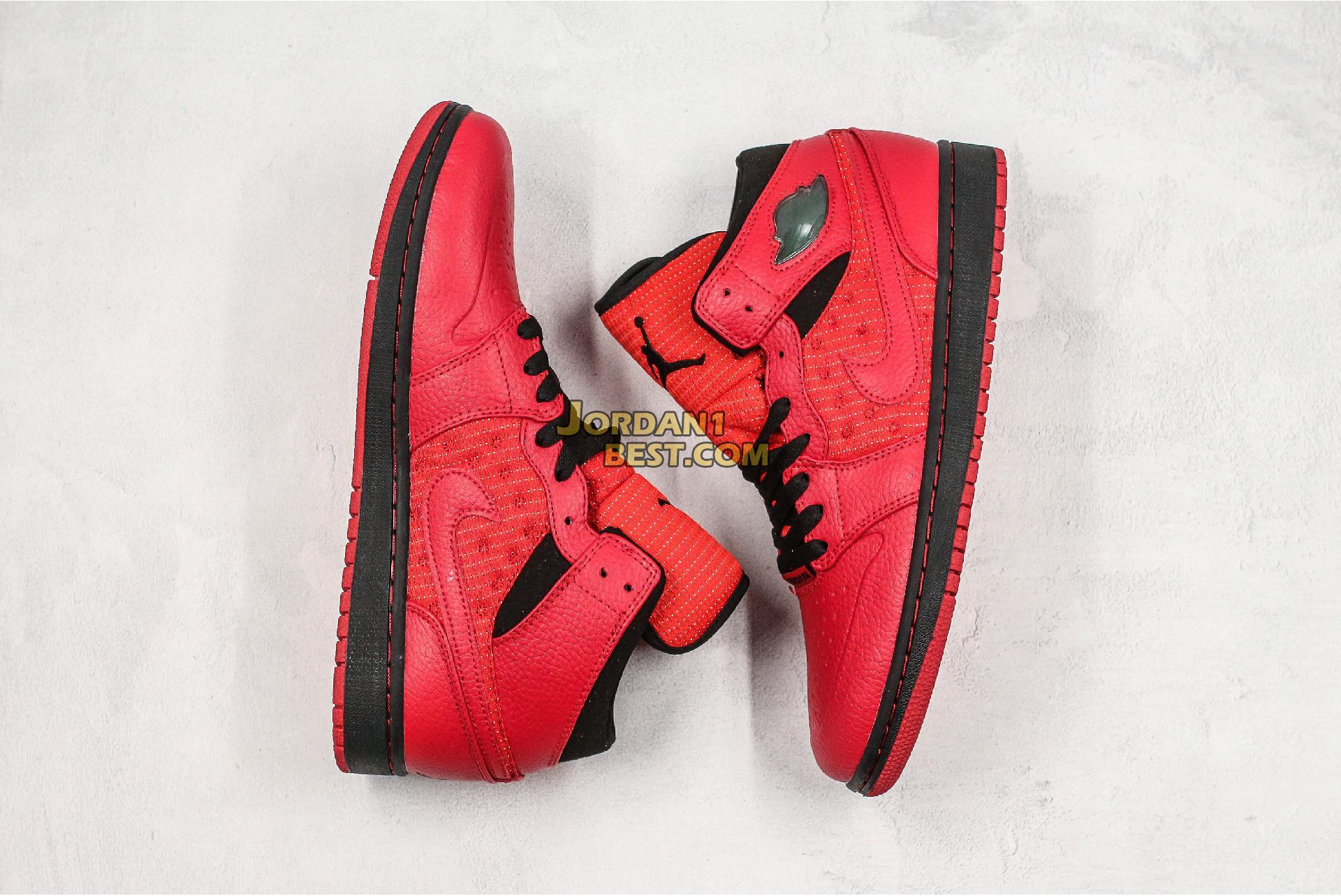 "Air Jordan 1 Retro 97 TXT ""Gym Red"" 555071-601 Mens"