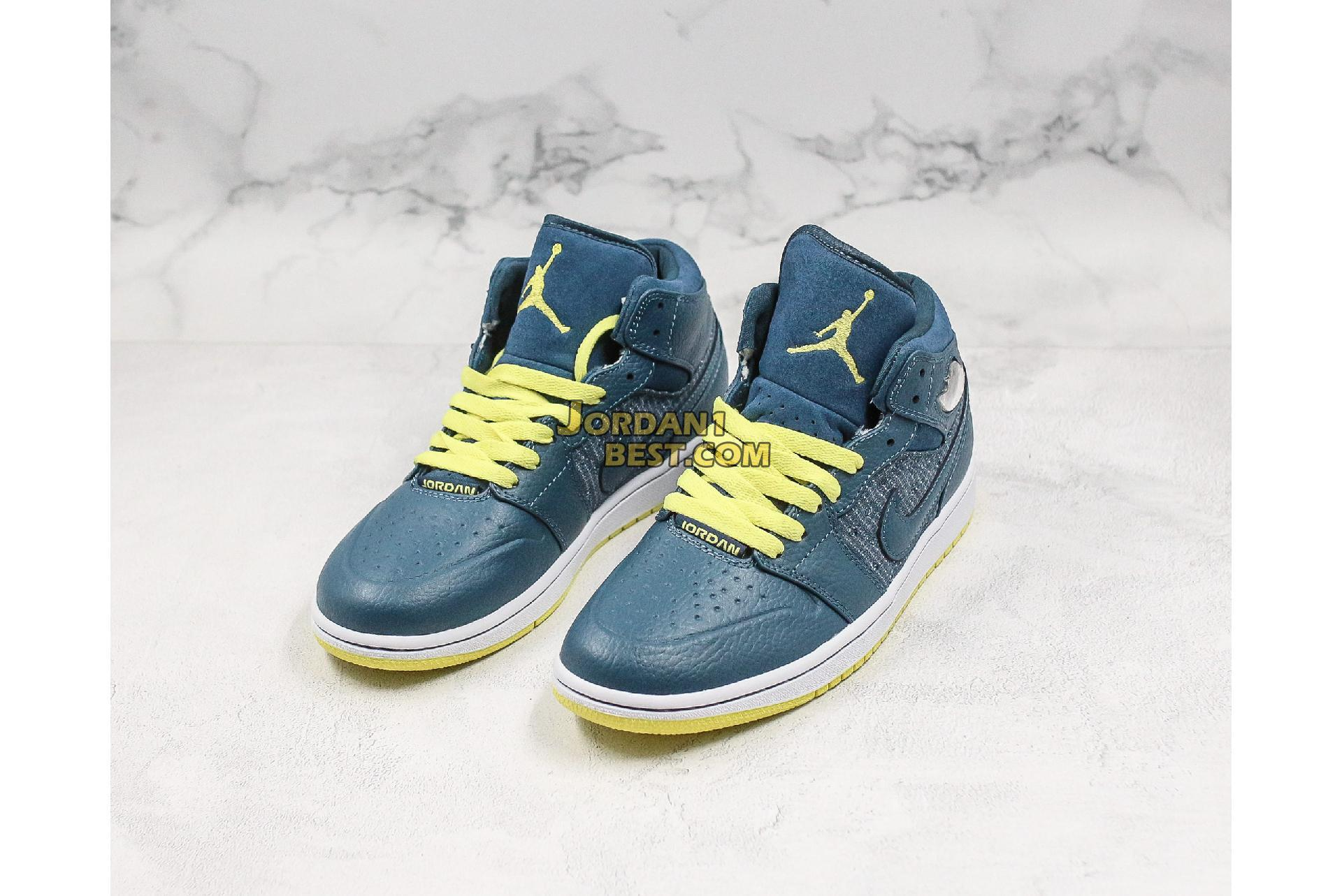 "Air Jordan 1 Retro 97 TXT ""Squadron Blue"" 555071-445 Mens"