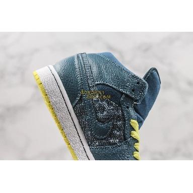 """top 3 fake Air Jordan 1 Retro 97 TXT """"Squadron Blue"""" 555071-445 Mens squadron blue/squadron blue-elctrc yellow Shoes replicas On Wholesale Sale Online"""