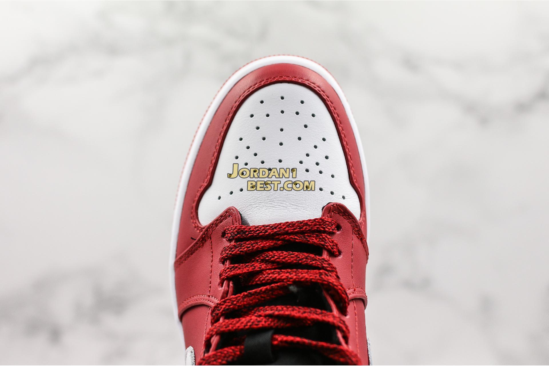 "Air Jordan 1 Mid ""Gym Red"" 554724-605 Mens Womens"