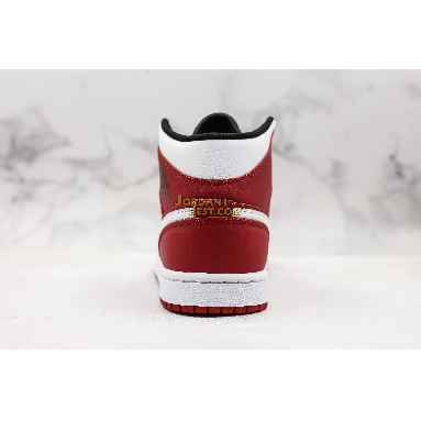 """AAA Quality Air Jordan 1 Mid """"Gym Red"""" 554724-605 Mens Womens gym red/white/black Shoes replicas On Wholesale Sale Online"""
