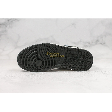 "new replicas Air Jordan 1 Mid SE ""Satin Smoke Grey"" 852542-011 Mens Womens black/anthracite-sail Shoes replicas On Wholesale Sale Online"