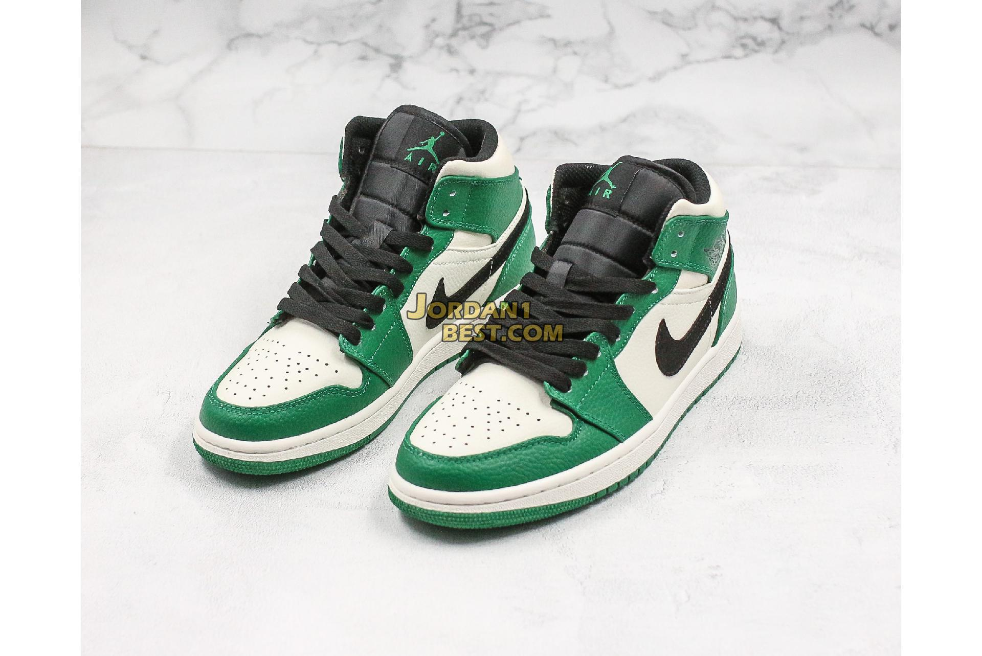 "Air Jordan 1 Mid ""Pine Green"" 852542-301 Mens"