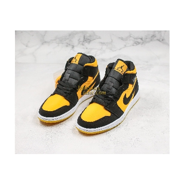 "fake Air Jordan 1 Mid ""Black Gold"" CD6759-007 Mens Womens black/black-university gold-white Shoes replicas On Wholesale Sale Online"