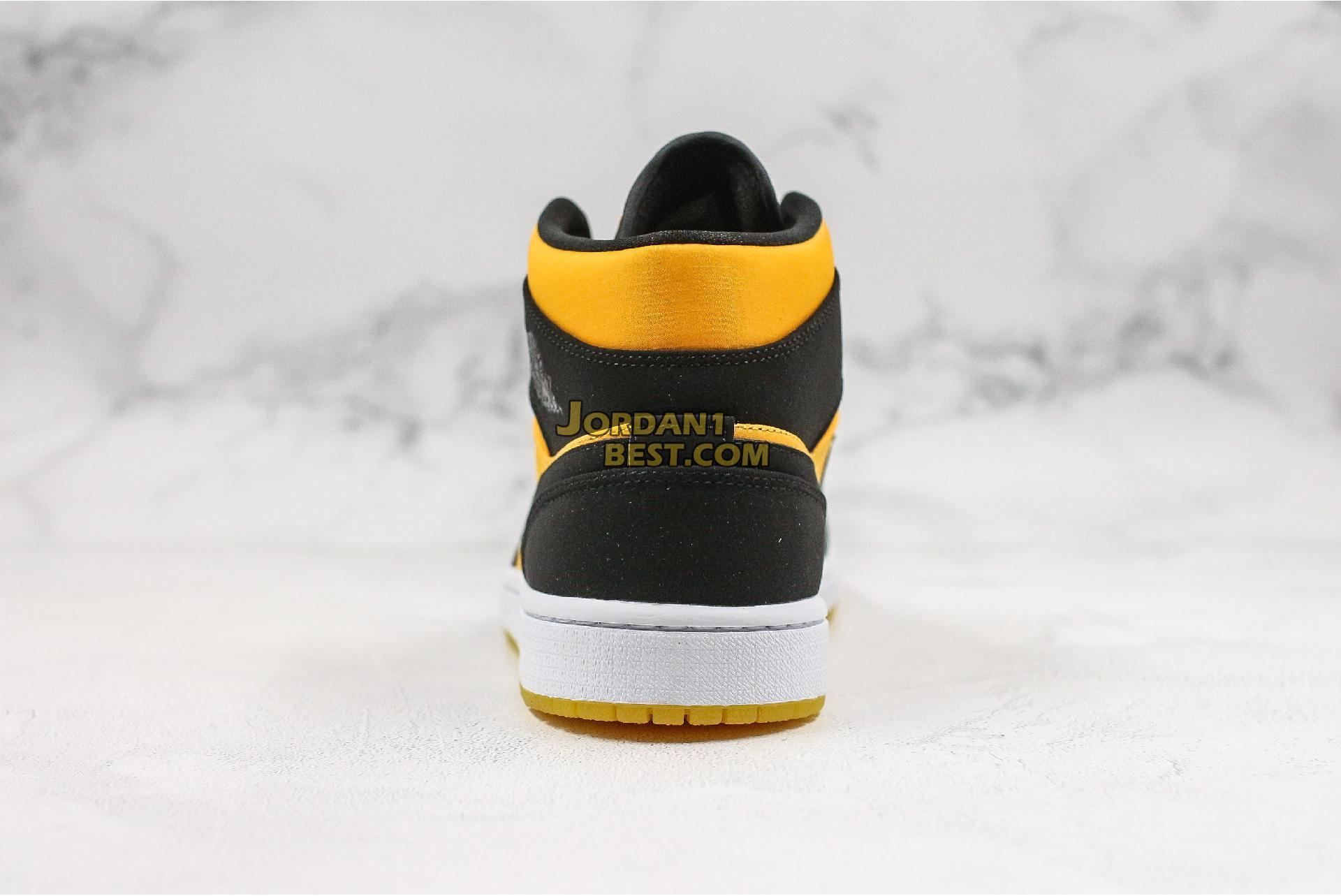 "Air Jordan 1 Mid ""Black Gold"" CD6759-007 Mens Womens"