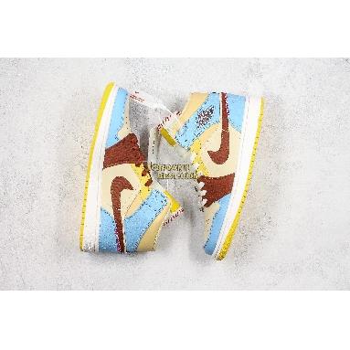 "top 3 fake Maison Chateau Rouge x Air Jordan 1 Mid SE ""Fearless"" CU2803-200 Mens Womens pale vanilla/cinnamon Shoes replicas On Wholesale Sale Online"