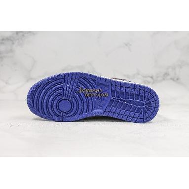 "AAA Quality Air Jordan 1 Mid GS ""Tiger Print"" AV5174-005 Mens Womens black/white-rush violet-black Shoes replicas On Wholesale Sale Online"
