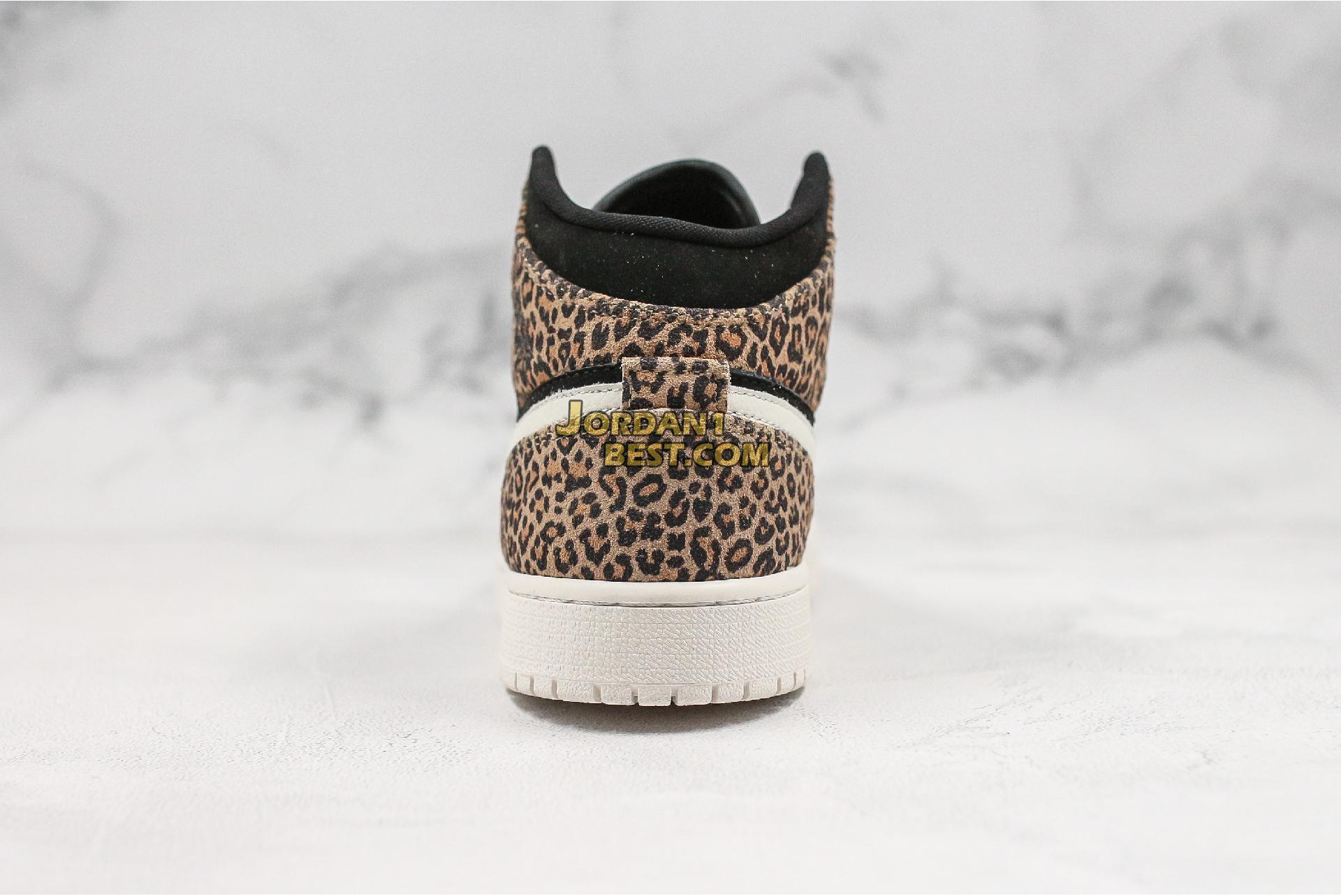 """Air Jordan 1 Mid SE GS """"Cheetah"""" BQ6931-021 Womens"""