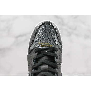"top 3 fake Air Jordan 1 Retro Mid GS ""Black Dark Grey"" 554725-041 Mens Womens black/dark grey-summit white Shoes replicas On Wholesale Sale Online"