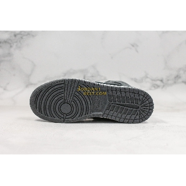 "top 3 fake Air Jordan 1 Retro Mid GS ""Black Dark Grey"" 554725-041 Mens Womens black/dark grey-summit white Shoes replicas On Wholesale Sale Online"