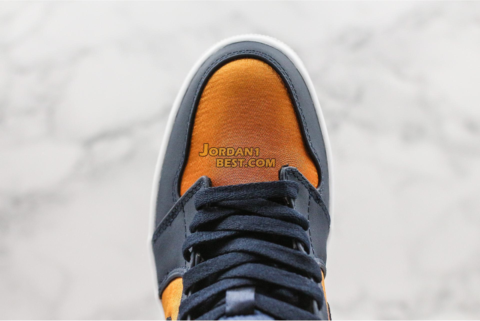 """Air Jordan 1 Mid SE Premium """"Stain Gold"""" 852542-401 Mens Womens"""