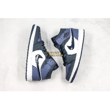 "new replicas Air Jordan 1 Mid ""Sanded Purple"" 554724-445 Mens Womens obsidian/sanded purple-white Shoes replicas On Wholesale Sale Online"