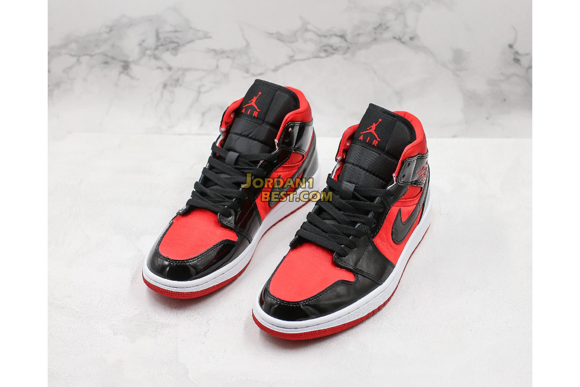 "Air Jordan 1 Mid ""Hot Punch"" BQ6472-600 Mens Womens"