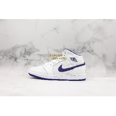 "new replicas Air Jordan 1 Retro High GG ""White Court Purple"" 332148-137 Womens white/crt purple-lt rtr-white Shoes replicas On Wholesale Sale Online"