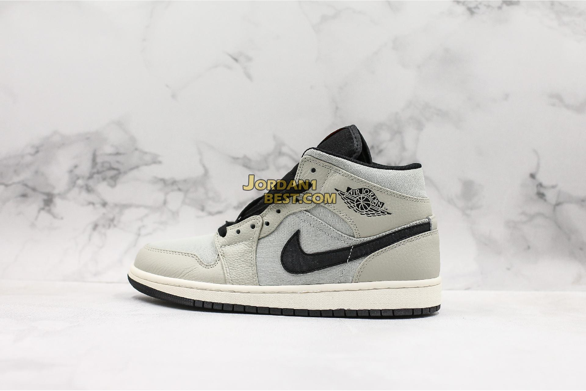 "Air Jordan 1 Retro Mid SE ""Light Bone"" 852542-002 Mens Womens"