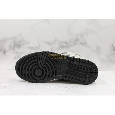 """best replicas Air Jordan 1 Retro Mid SE """"Light Bone"""" 852542-002 Mens Womens light bone/cone-black-sail Shoes replicas On Wholesale Sale Online"""