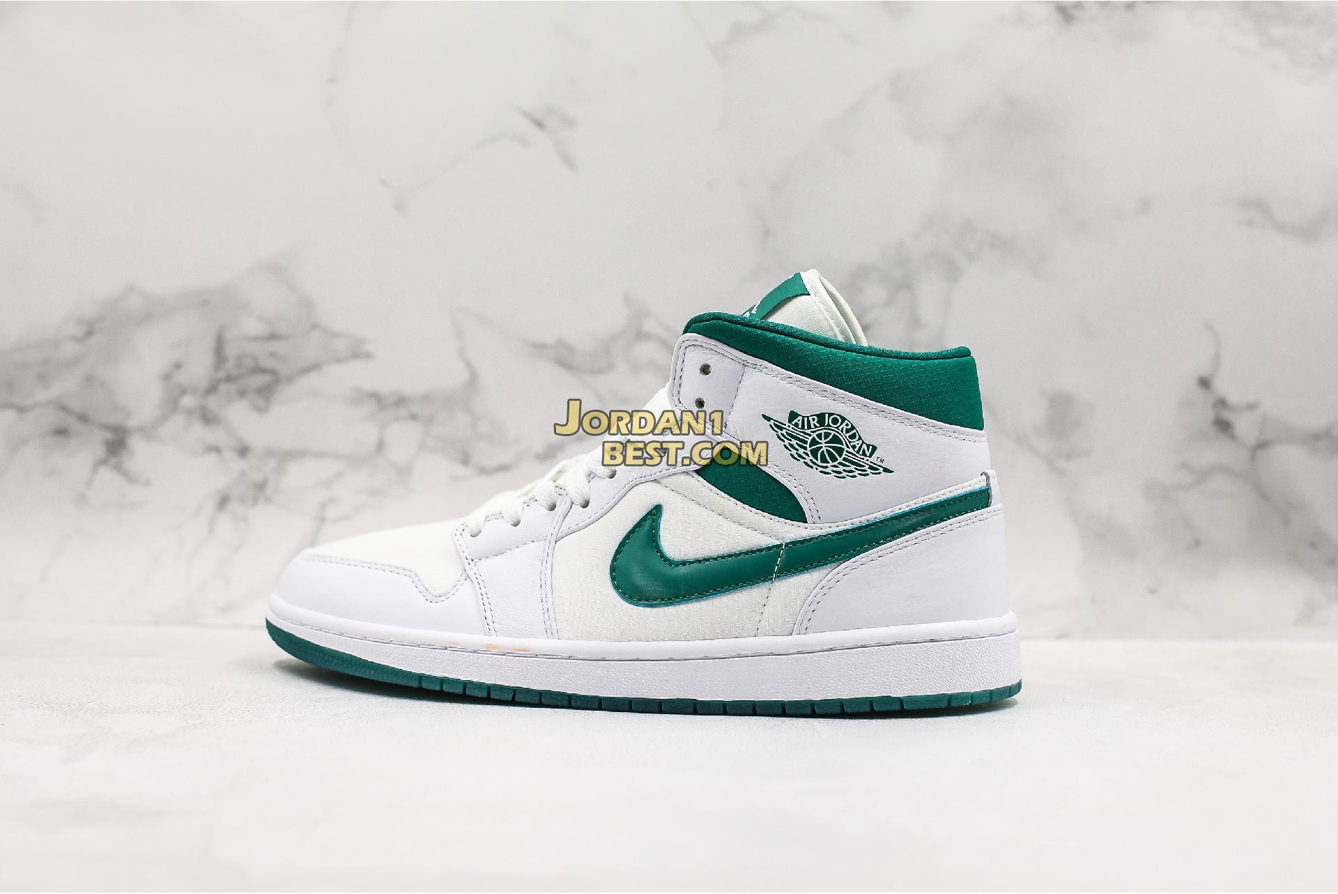 "Air Jordan 1 Retro Mid SE ""Mystic Green"" CD6759-103 Mens Womens"