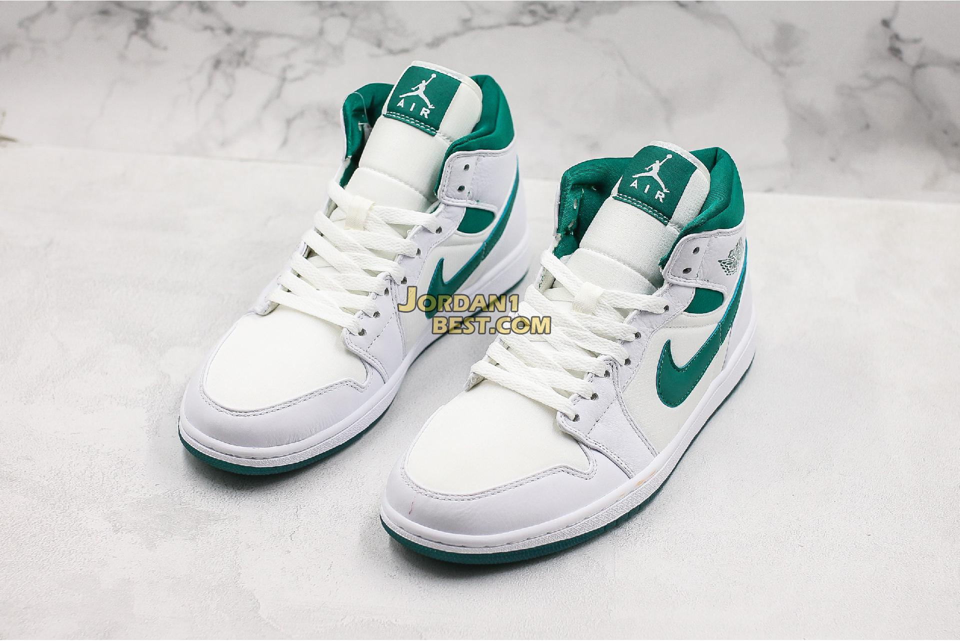 "Air Jordan 1 Retro Mid SE ""Mystic Green"" CD6759-103 Mens Womens"