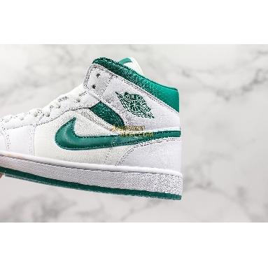 "fake Air Jordan 1 Retro Mid SE ""Mystic Green"" CD6759-103 Mens Womens white/mystic green Shoes replicas On Wholesale Sale Online"