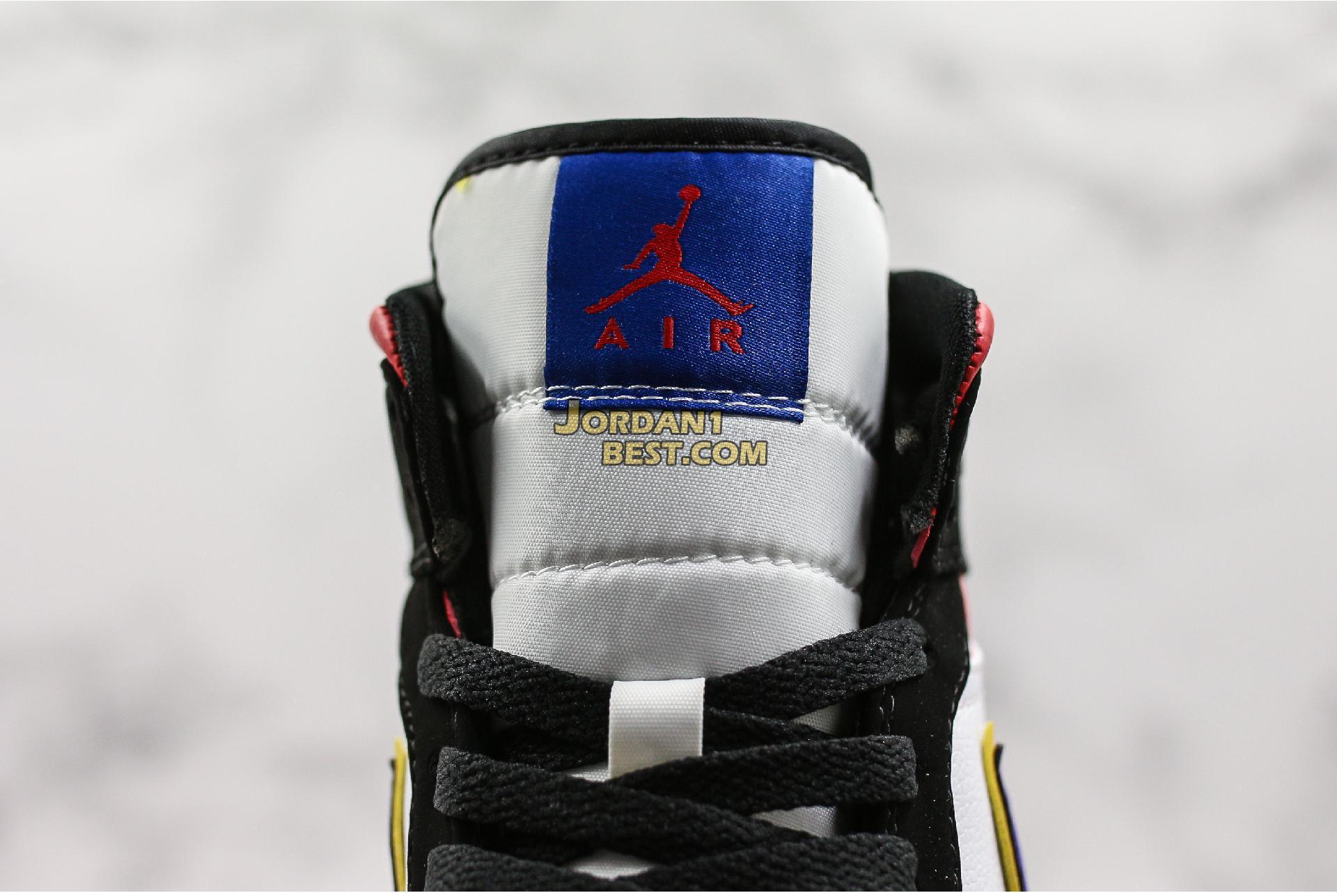"""Air Jordan 1 Retro Mid SE """"Rivals"""" 852542-005 Mens"""