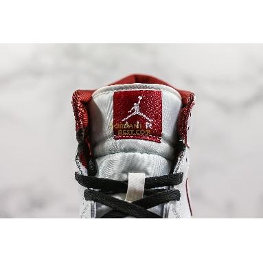 "fake Air Jordan 1 Retro Mid GS ""White Gym Red"" 554725-103 Womens white/gym red-black Shoes replicas On Wholesale Sale Online"