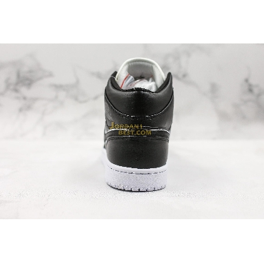 """top 3 fake Air Jordan 1 Mid """"Maybe I Destroyed the Game"""" 852542-016 Mens black/white Shoes replicas On Wholesale Sale Online"""