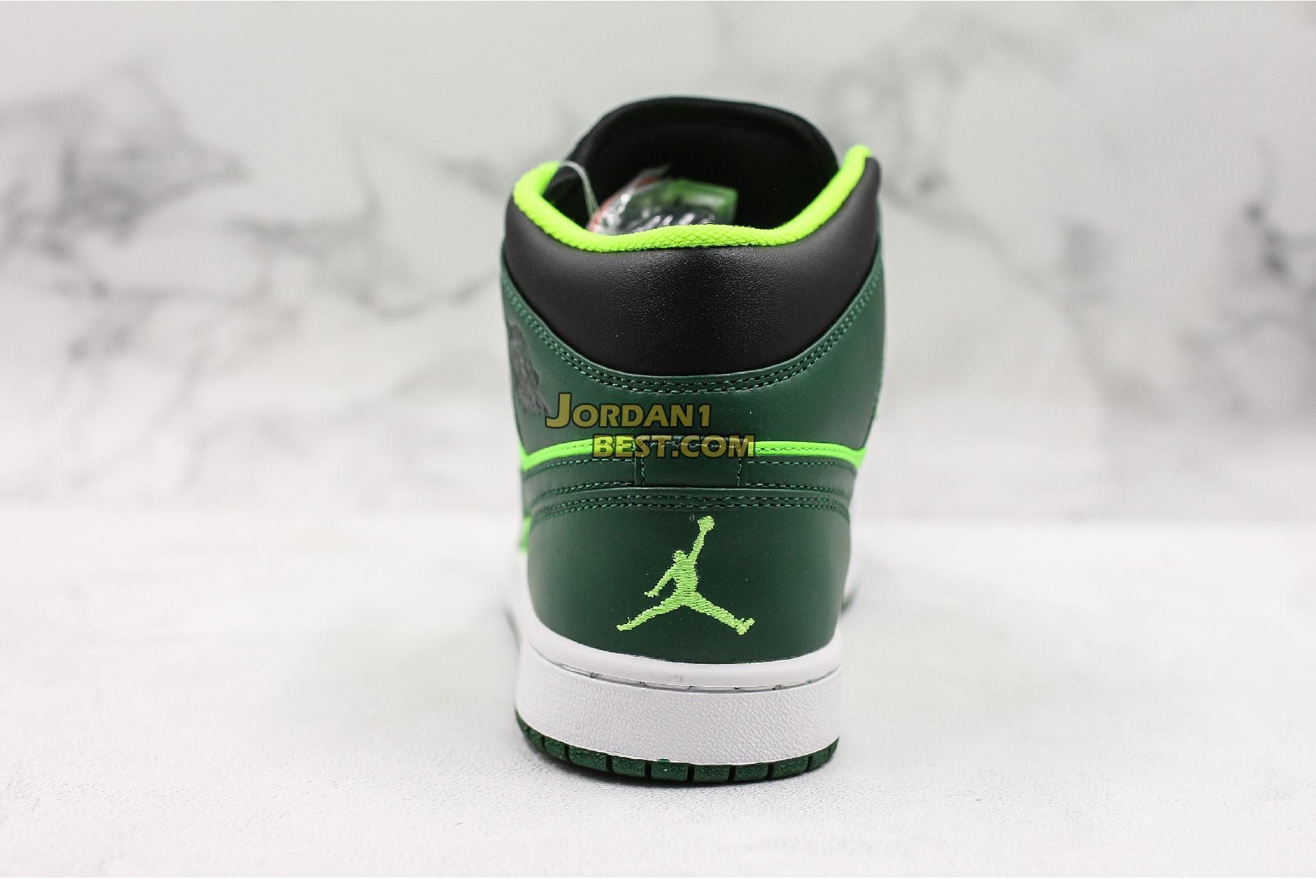 """Air Jordan 1 Mid """"Green"""" 852542-300 Mens Womens"""