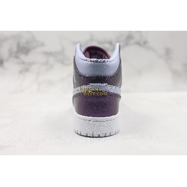 "fake Air Jordan 1 Mid GS ""Metallic Purple"" AV5174-400 Womens monsoon blue/purple rise-violet dust-white-melon tint Shoes replicas On Wholesale Sale Online"