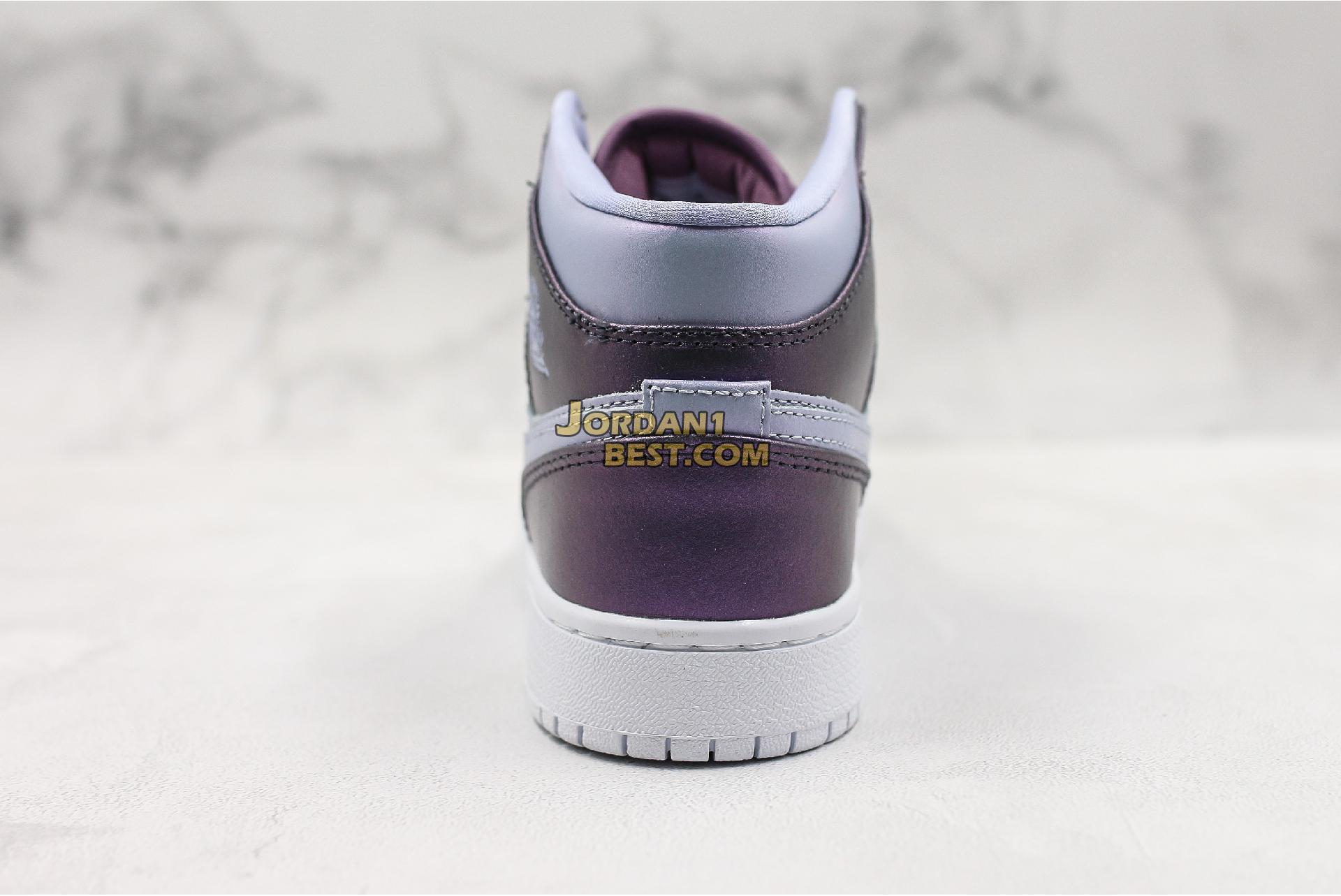 "Air Jordan 1 Mid GS ""Metallic Purple"" AV5174-400 Womens"