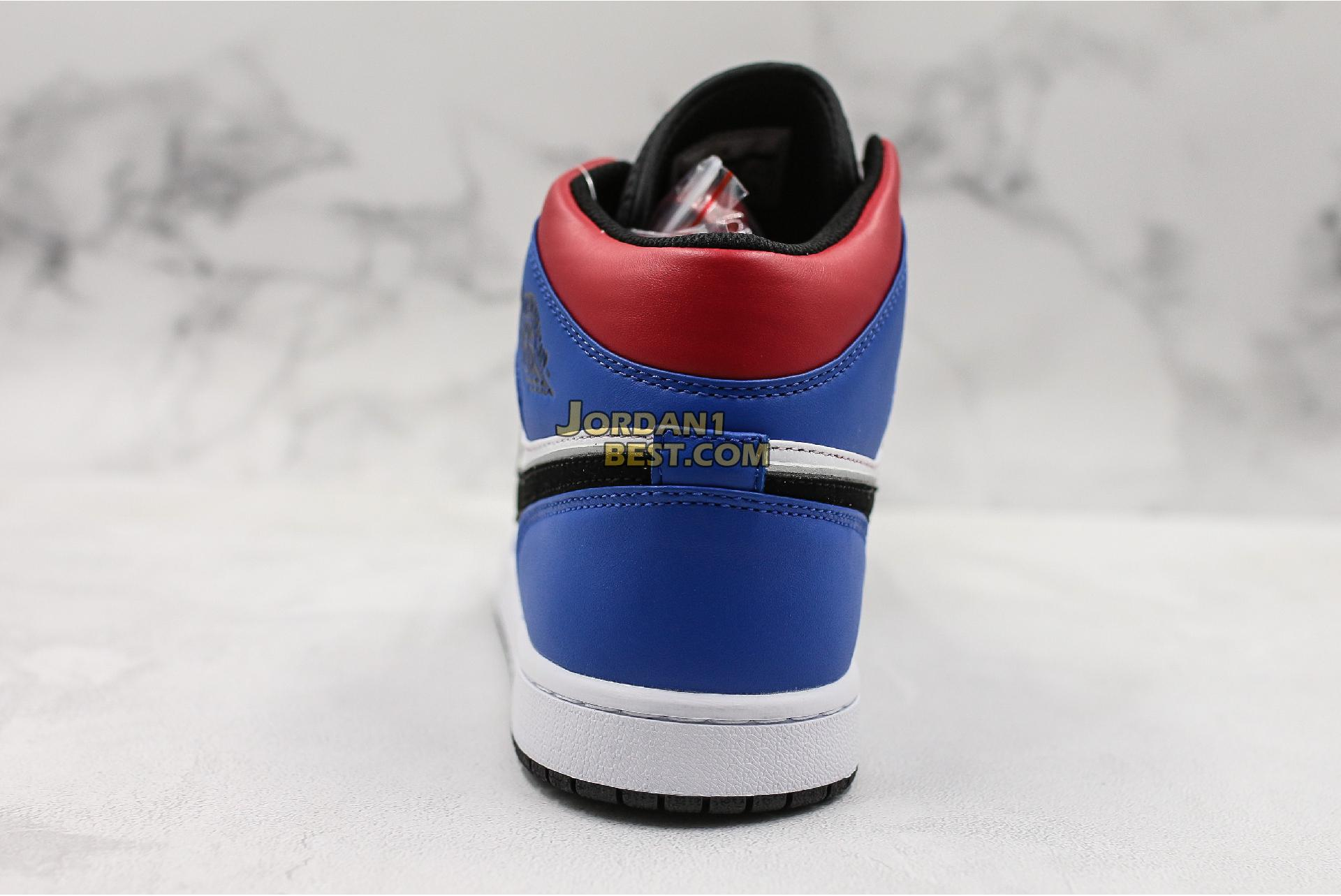 "Air Jordan 1 Mid GS ""Top 3"" 554725-124 Mens"