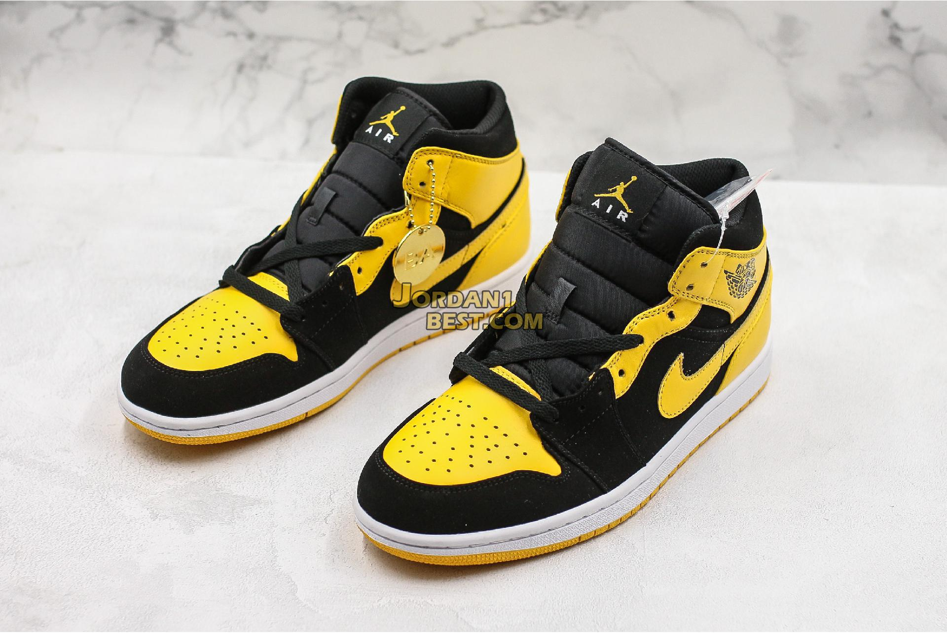"Air Jordan 1 Retro Mid ""New Love"" 554724-035 Mens"