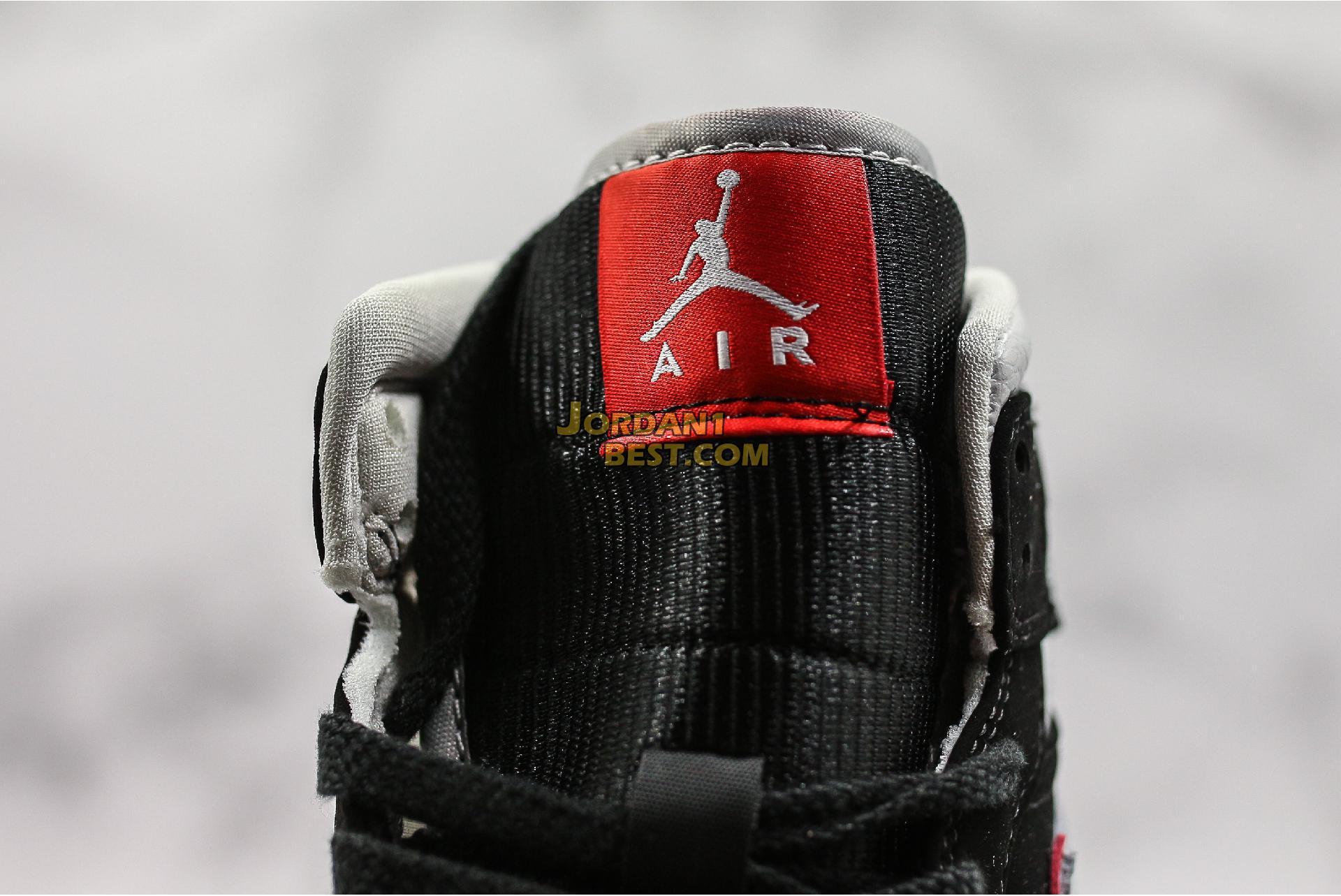 """Air Jordan 1 Mid """"Black Grey"""" 554724-060 Mens Womens"""