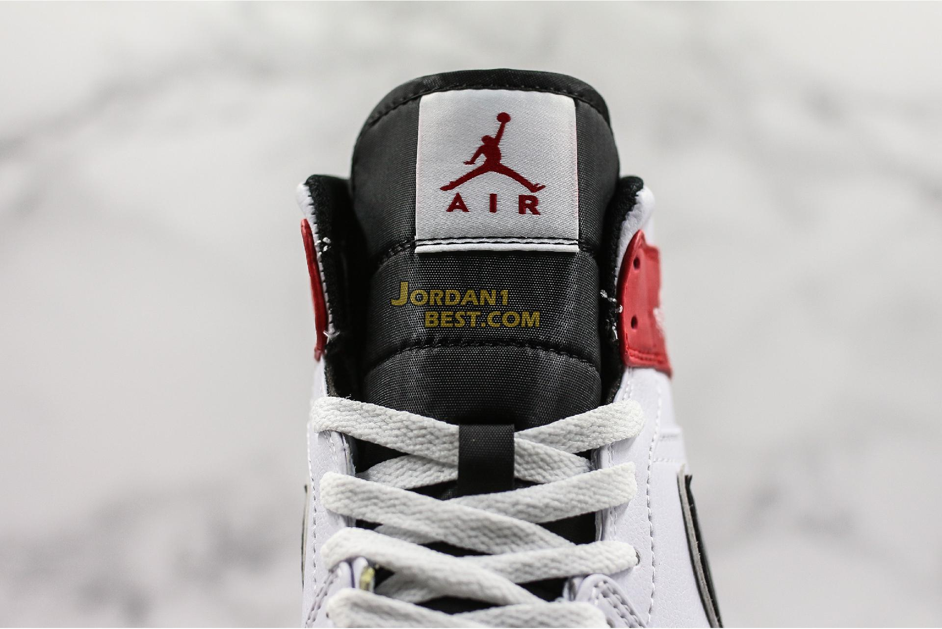 "Air Jordan 1 Mid ""White Chicago"" 554724-116 Mens Womens"