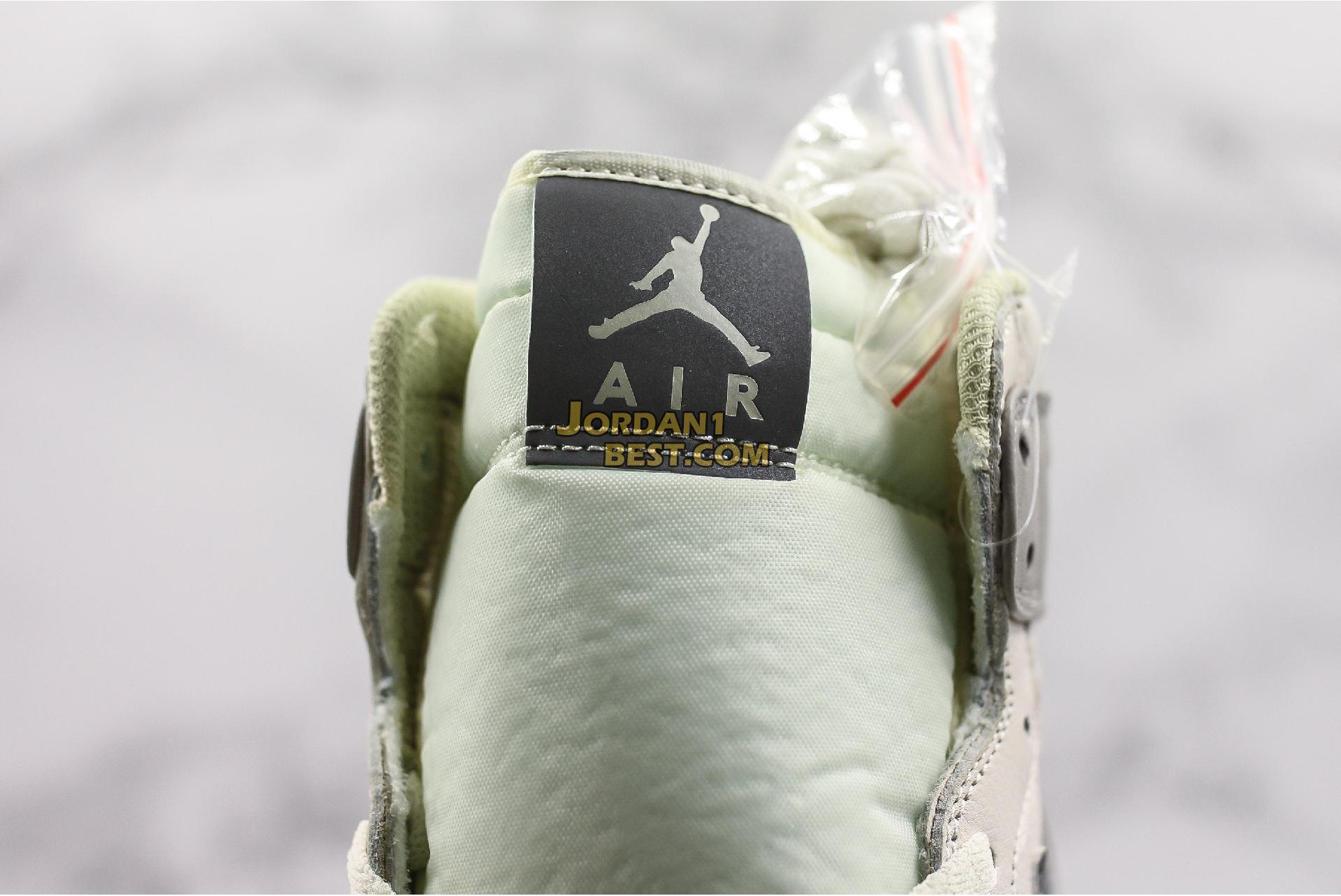 """Air Jordan 1 Mid """"Light Bone Wolf Grey"""" 554725-053 Mens Womens"""