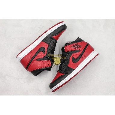 """AAA Quality Air Jordan 1 Mid """"Banned"""" 554724-610 Mens Womens gym red/black-white Shoes replicas On Wholesale Sale Online"""