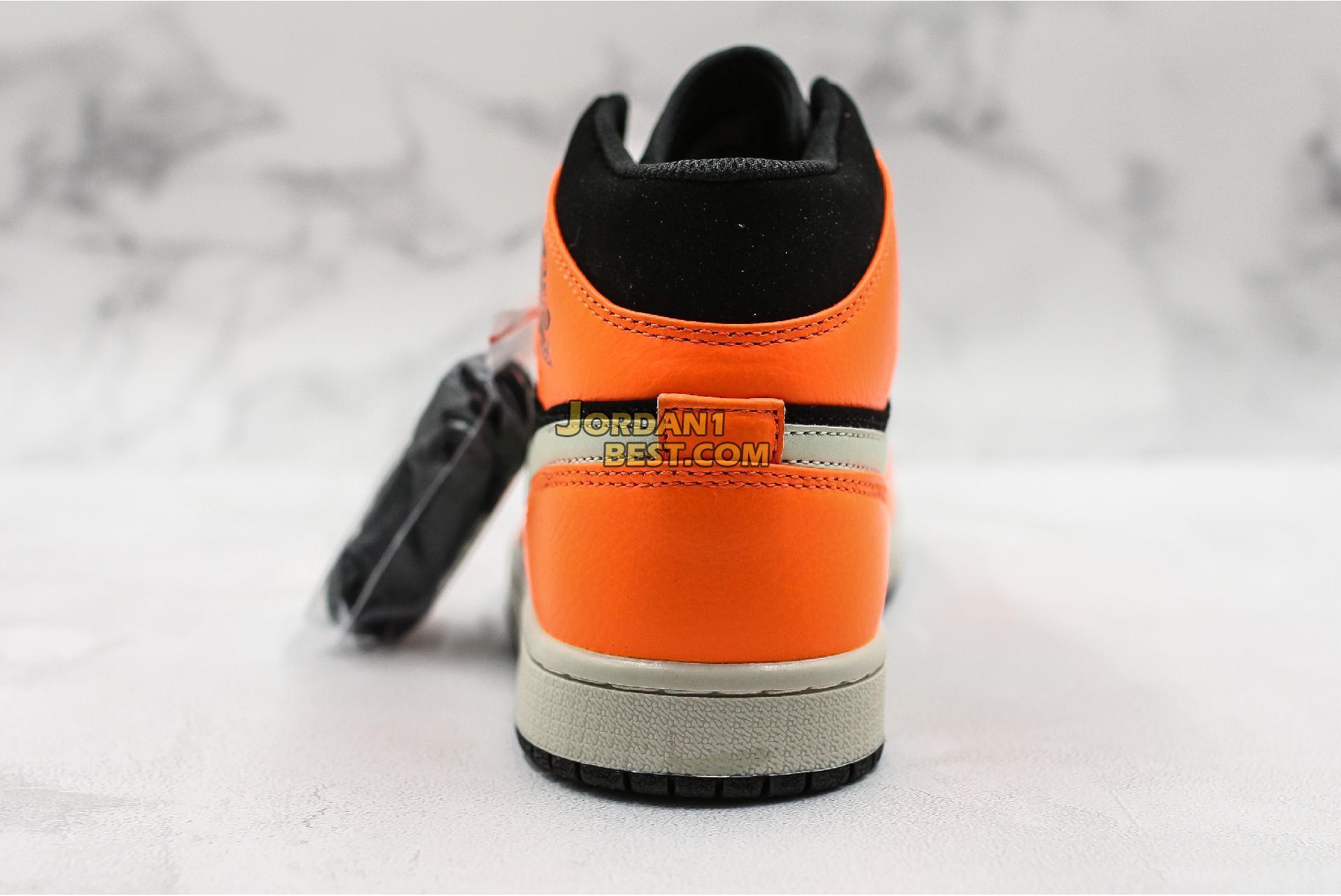 "Air Jordan 1 Mid ""Black Cone"" 554724-062 Mens"