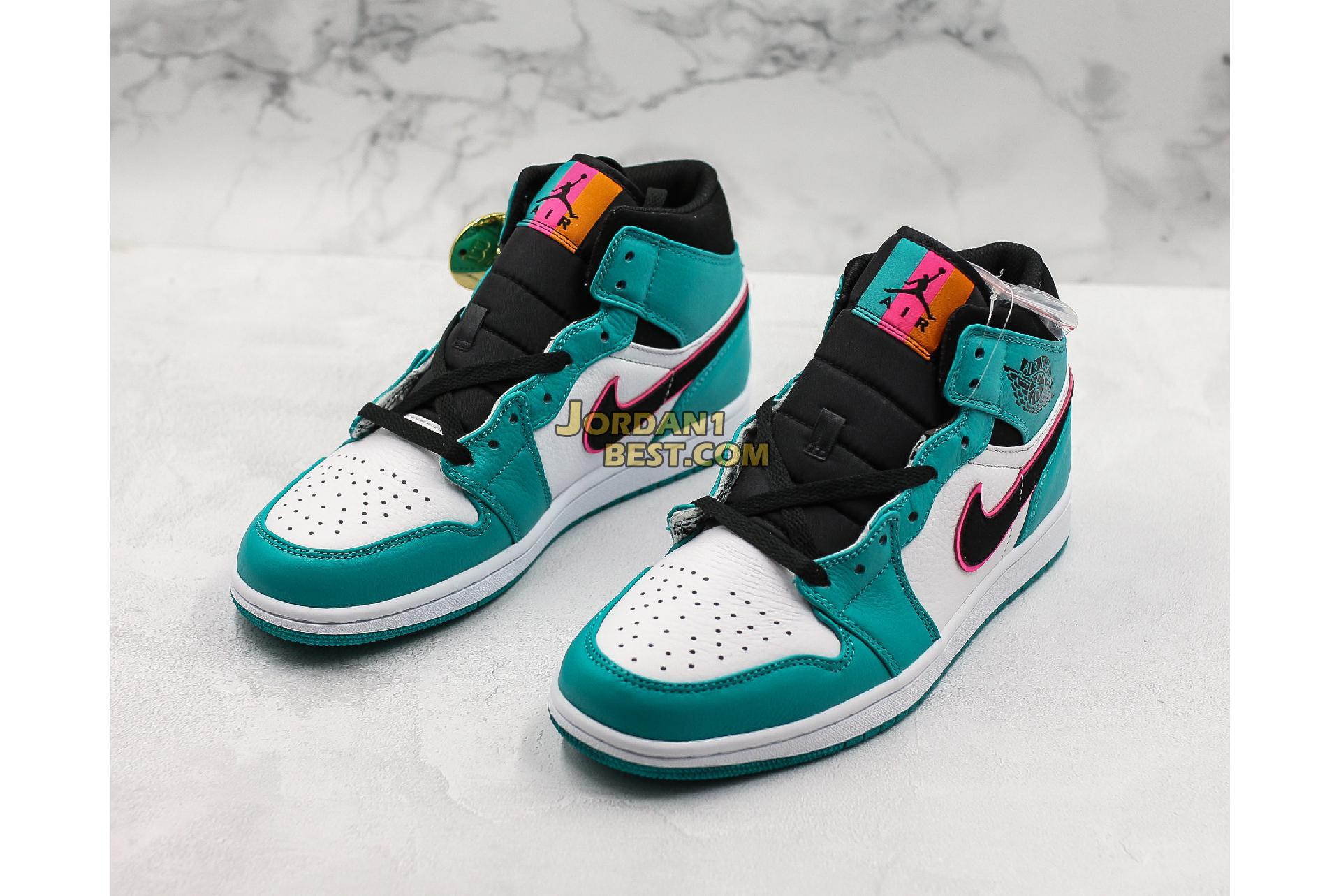 "Air Jordan 1 Mid SE ""South Beach"" 852542-306 Mens"