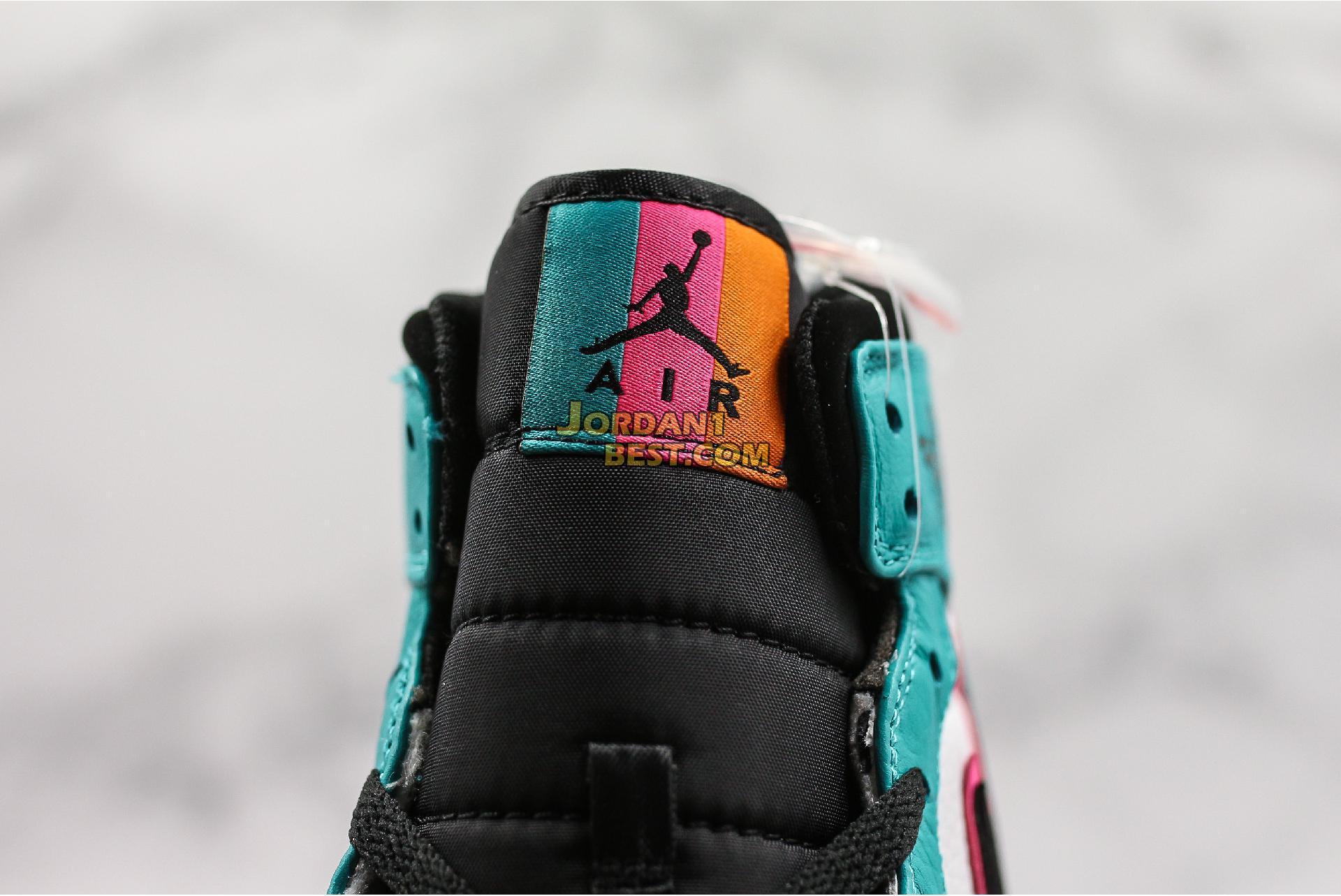 "Air Jordan 1 Mid SE ""South Beach"" 852542-306 Mens"
