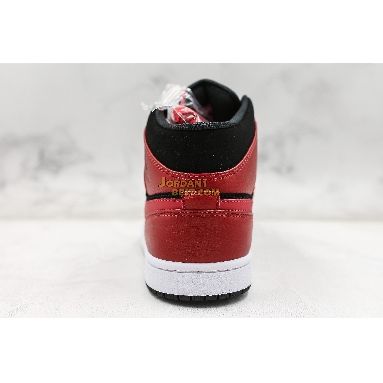 "best replicas Air Jordan 1 Mid ""Bred"" 554724-054 Mens black/white-gym red Shoes replicas On Wholesale Sale Online"