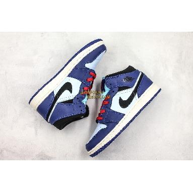 "new replicas Air Jordan 1 Mid SE GS ""Deep Royal"" BQ6931-400 Mens Womens deep royal blue/black Shoes replicas On Wholesale Sale Online"