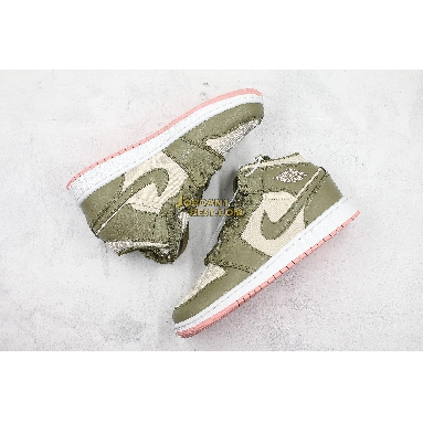 """AAA Quality Air Jordan 1 Mid GG """"Bleached Coral"""" 555112-225 Womens trooper/bleached coral Shoes replicas On Wholesale Sale Online"""