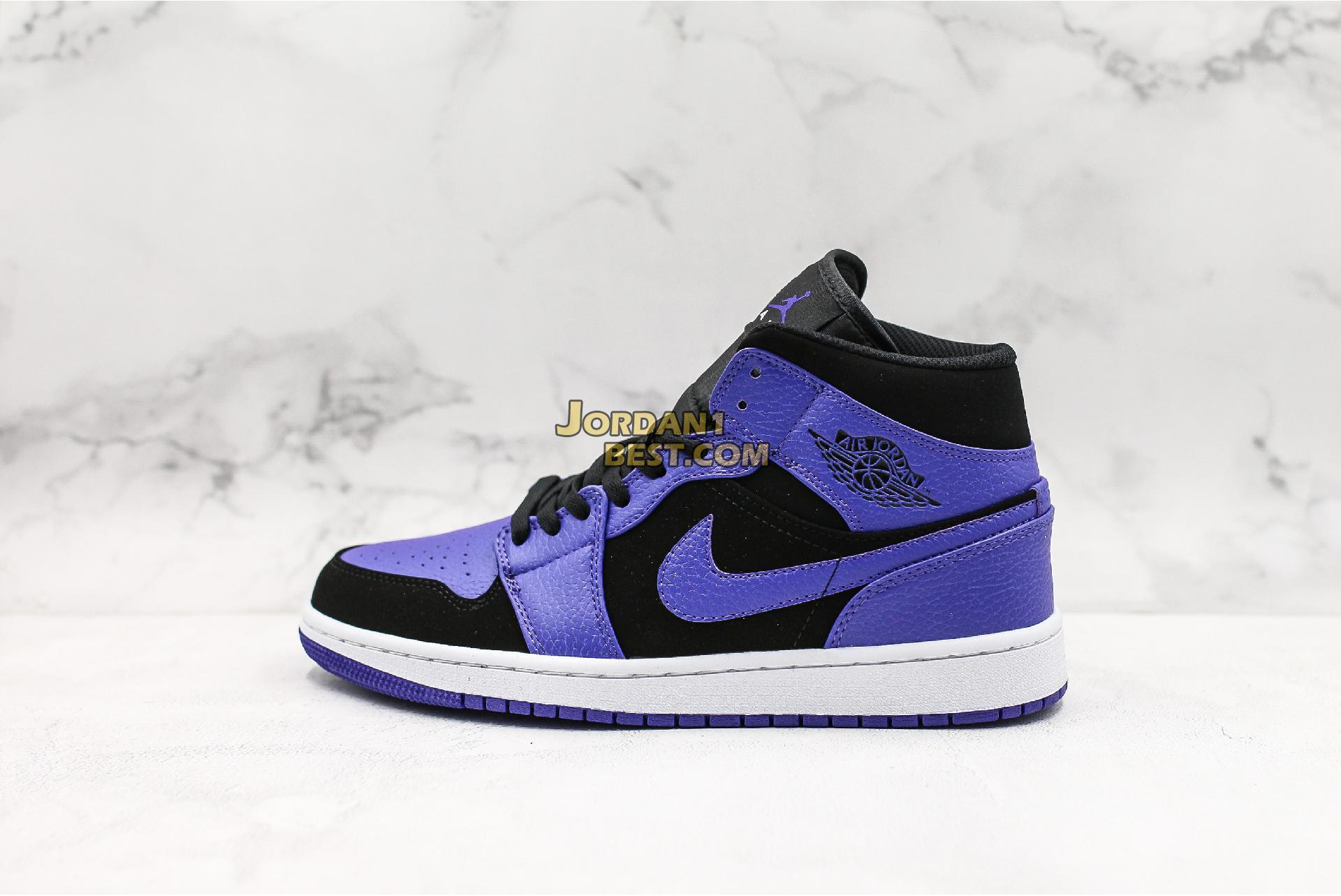 "Air Jordan 1 Mid ""Dark Concord"" 554724-051 Mens"