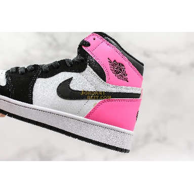 "best replicas Air Jordan 1 Retro High GG ""Valentines Day"" 881426-009 Womens black/black-hyper pink-white Shoes replicas On Wholesale Sale Online"