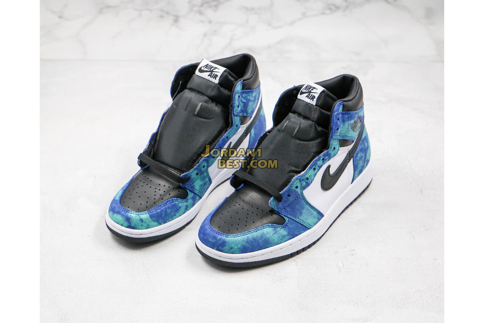 """Air Jordan 1 High OG """"Tie-Dye"""" CD0461-100 Mens"""