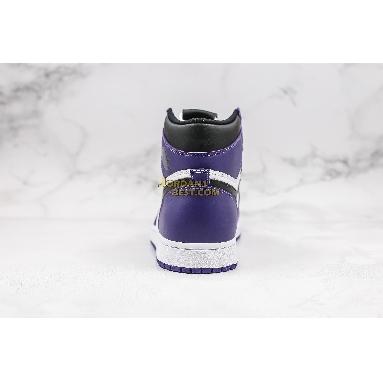 """best replicas 2020 Air Jordan 1 Retro High OG """"Court Purple"""" 555088-500 Mens Womens court purple/white/black Shoes replicas On Wholesale Sale Online"""