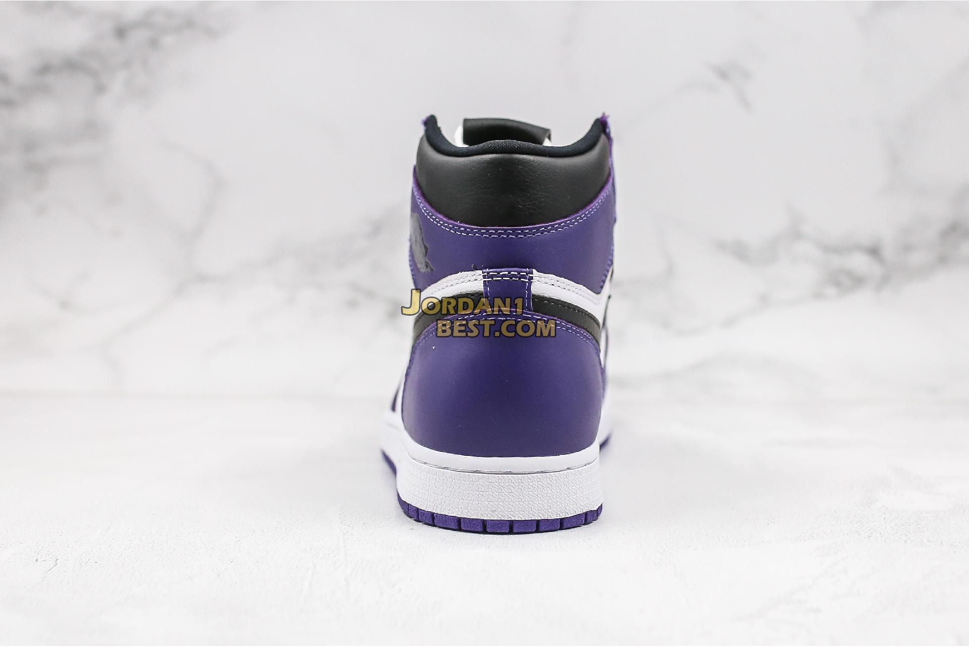 "2020 Air Jordan 1 Retro High OG ""Court Purple"" 555088-500 Mens Womens"